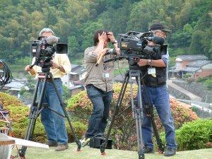 ハイビジョンカメラもスタンバイ
